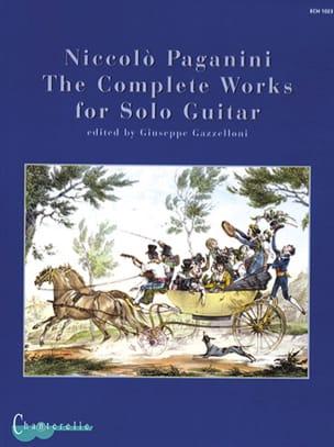 Complete Solo Guitar Works PAGANINI Partition Guitare - laflutedepan