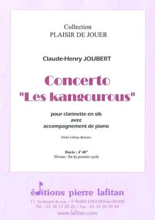 Concerto Les Kangourous Claude-Henry Joubert Partition laflutedepan