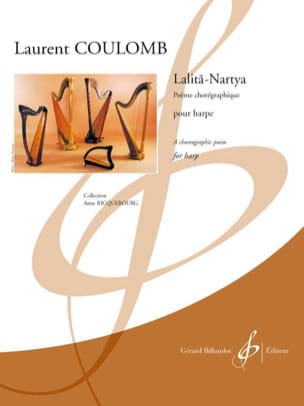 Lalita-Nartya - Harpe - Laurent Coulomb - Partition - laflutedepan.com