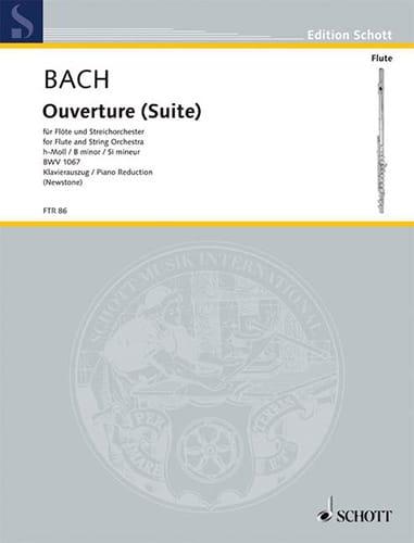 Ouverture Suite h-moll BWV 1067 -Flöte Klavier - laflutedepan.com