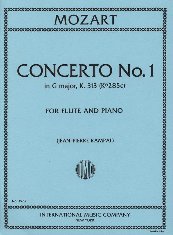 Concerto n° 1 G major KV 313 - Flute piano - laflutedepan.com
