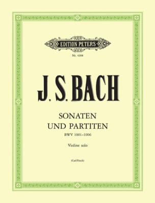BACH - Sonatas and partitas, revision C. Flesh - Partition - di-arezzo.co.uk
