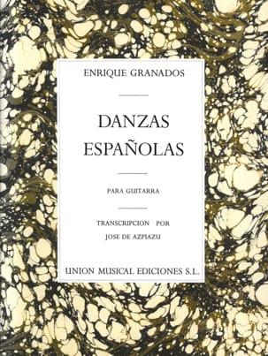 Enrique Granados - Danzas espanolas - Guitarra - Partition - di-arezzo.de