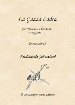 La Gazza Ladra - 1er Livre ROSSINI Partition Quatuors - laflutedepan