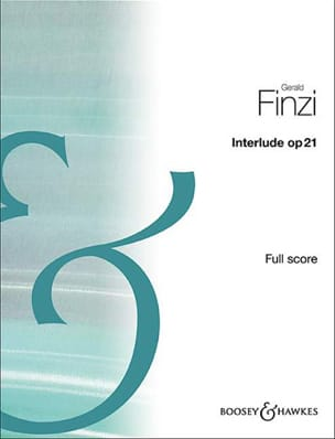 Interlude, op. 21 - Conducteur Gerald Finzi Partition laflutedepan