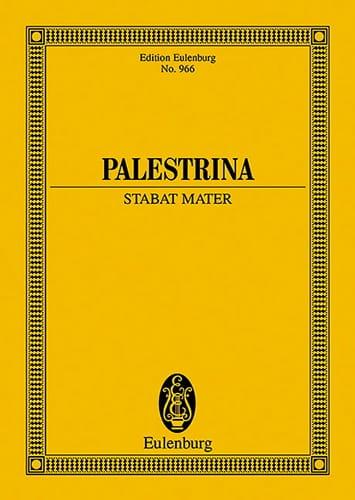 Stabat Mater - Partitur - PALESTRINA - Partition - laflutedepan.com
