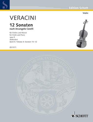 12 Sonaten nach Corelli op. 5, Bd. 4 - laflutedepan.com