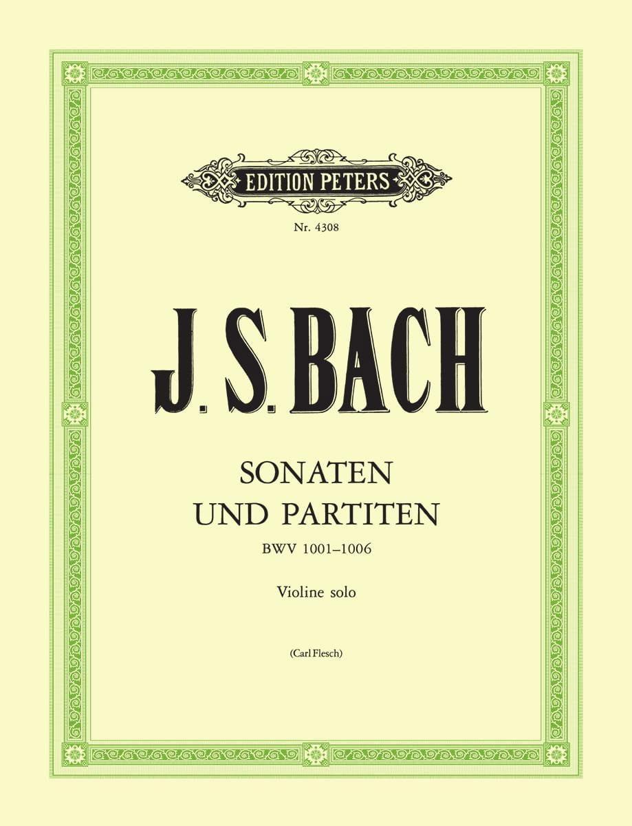 Sonates et partitas, révision C. Flesh - BACH - laflutedepan.com