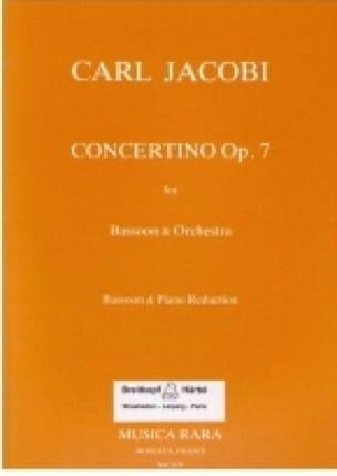 Concertino op. 7 - Carl Jacobi - Partition - Basson - laflutedepan.com