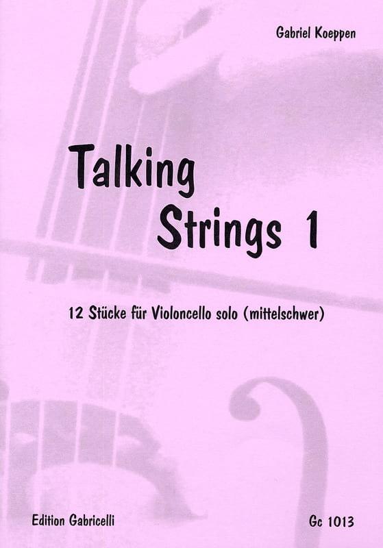 Talking Strings 1 - Gabriel Koeppen - Partition - laflutedepan.com