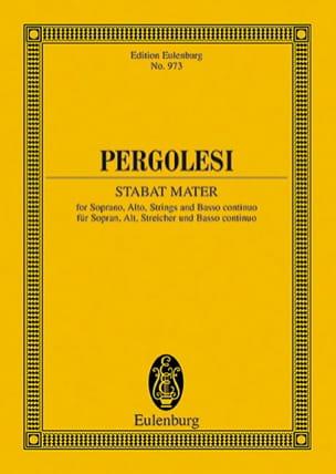 Stabat Mater - Partitur PERGOLESE Partition laflutedepan