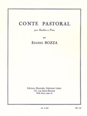 Conte pastoral Eugène Bozza Partition Hautbois - laflutedepan