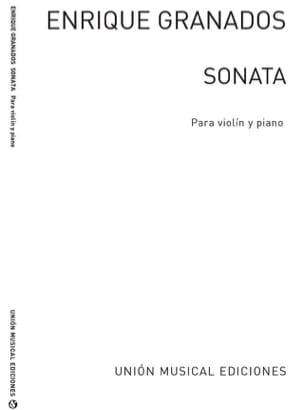 Sonate GRANADOS Partition Violon - laflutedepan