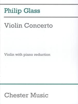 Concerto pour Violon 1987 GLASS Partition Violon - laflutedepan