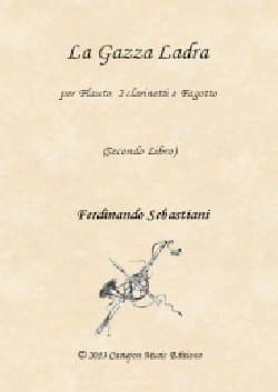 La Gazza Ladra - 2ème Livre ROSSINI Partition Quatuors - laflutedepan