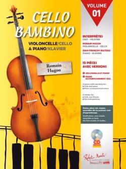 Cello Bambino - Volume 01 - Romain Hugon - laflutedepan.com