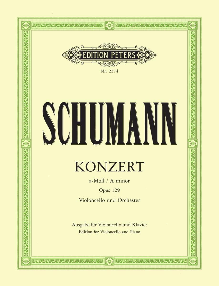 Concerto Violoncelle la mineur op. 129 - SCHUMANN - laflutedepan.com