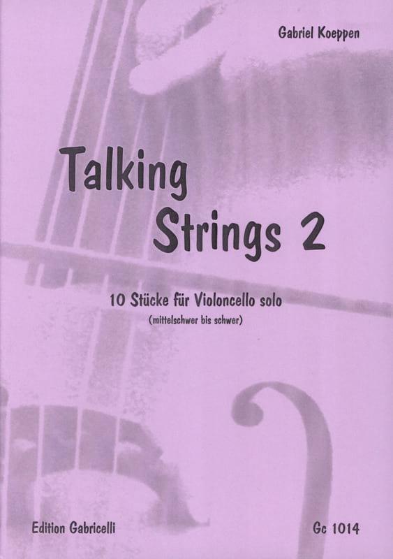 Talking Strings 2 - Gabriel Koeppen - Partition - laflutedepan.com