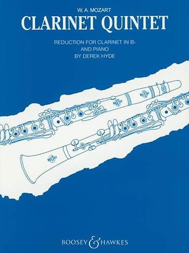 Quintet Kv 581 - Clarinette Si Bémol et Piano - laflutedepan.com