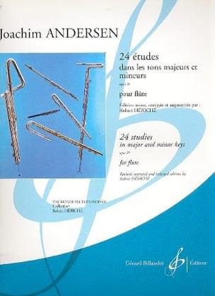 Joachim Andersen - 24 Estudios op. 21 - Partition - di-arezzo.es