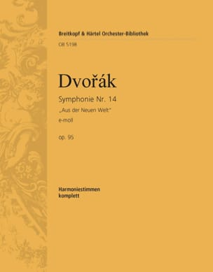 Symphonie, Nr. 9 E-Moll Op. 95 - Harrmonie DVORAK laflutedepan
