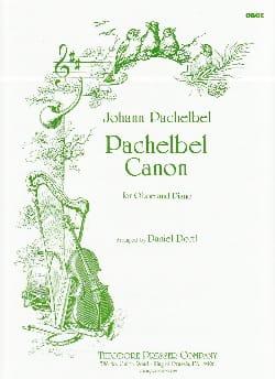Canon -Oboe PACHELBEL Partition Hautbois - laflutedepan