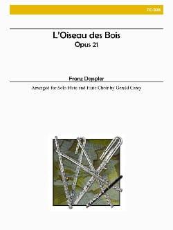 L'oiseau des Bois Franz Doppler Partition laflutedepan