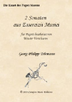 TELEMANN - 2 Sonatas - Basson and BC - Partition - di-arezzo.com