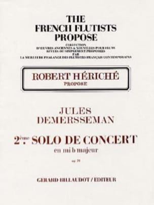 2ème Solo de concert en mib maj. op 20 - Flûte et piano - laflutedepan.com