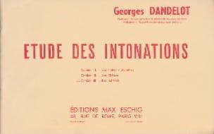 Etude des Intonations Cahier 3 - DANDELOT - laflutedepan.com