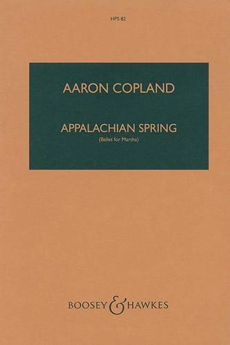 Appalachian Spring - COPLAND - Partition - laflutedepan.com