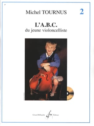 ABC du Jeune Violoncelliste Volume 2 Michel Tournus laflutedepan