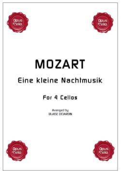 Eine kleine Nachtmusik - 4 Violoncelles MOZART Partition laflutedepan