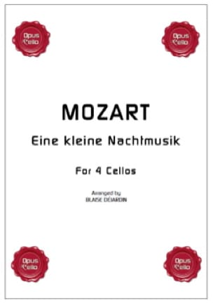 Eine kleine Nachtmusik - 4 Violoncelles - MOZART - laflutedepan.com
