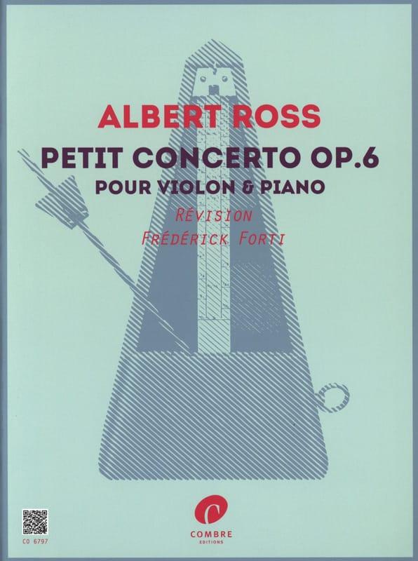 Petit concerto, op. 6 - Violon et piano - laflutedepan.com