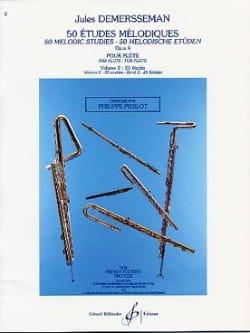 50 Etudes mélodiques op. 4 - Volume 2 Jules Demersseman laflutedepan