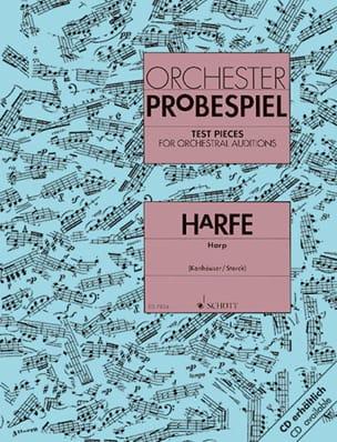 Orchester Probespiel -Harfe Partition Harpe - laflutedepan