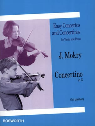 Concertino in G - Violin J. Mokry Partition Violon - laflutedepan