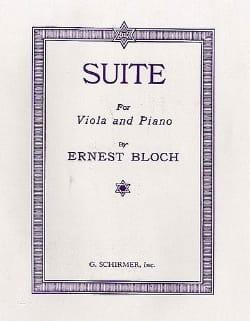 Suite for viola and piano BLOCH Partition Alto - laflutedepan