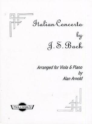 Italian Concerto BWV 971 BACH Partition Alto - laflutedepan