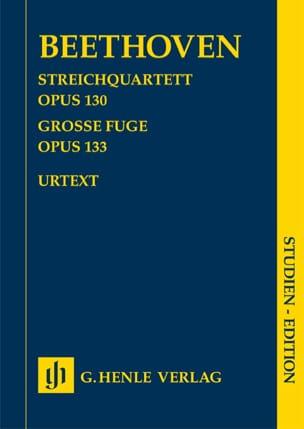 Quatuor à cordes en Si bémol majeur op. 130 - Grande Fugue op. 133 laflutedepan