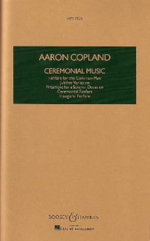 Ceremonial Music - COPLAND - Partition - laflutedepan.com