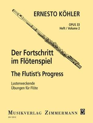 Ernesto KÖHLER - Der Fortschritt - Op. 33 Heft 2 - Partition - di-arezzo.es