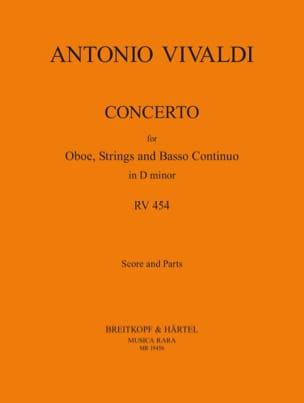 Concerto in D minor RV 454 -Oboe strings Bc VIVALDI laflutedepan