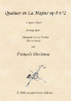 Quatuor en La Majeur, opus 8 n° 2 Ignaz Pleyel Partition laflutedepan