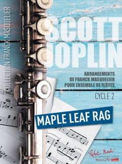 Maple Leaf Rag - Ensemble de Flûtes + Contrebasse JOPLIN laflutedepan