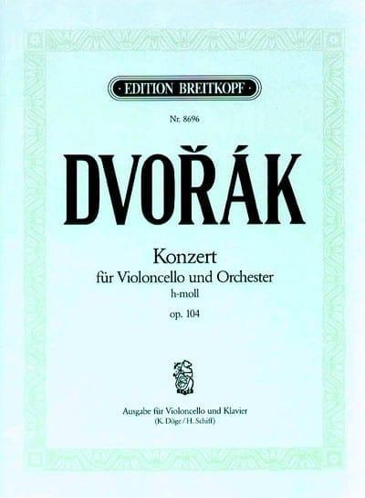 Concerto Pour Violoncelle Si Mineur Op. 104 - laflutedepan.com