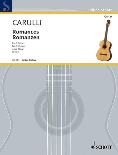 Romanzen - 2 Gitarren - Ferdinando Carulli - laflutedepan.com