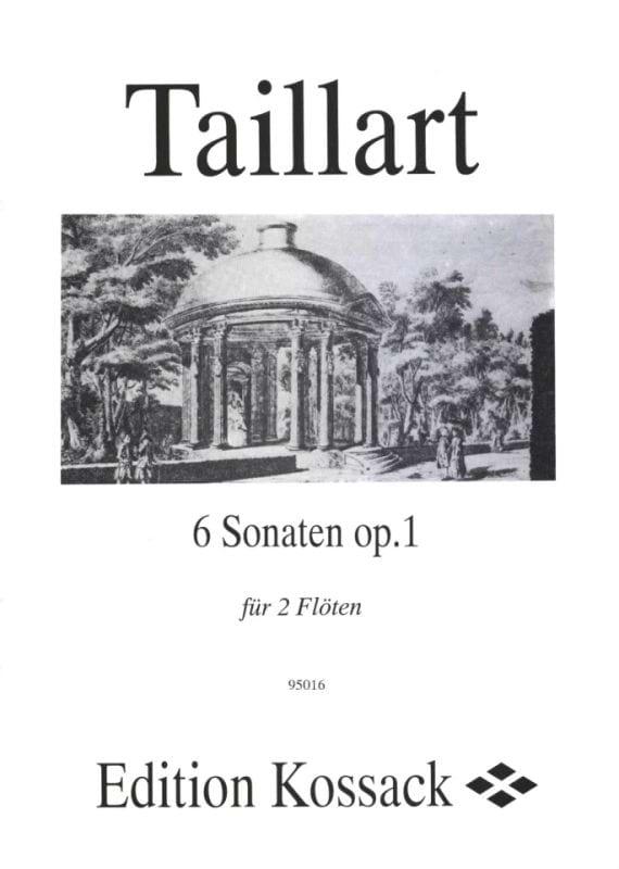 6 Sonaten op. 1 - 2 Flöten - Pierre Taillart - laflutedepan.com