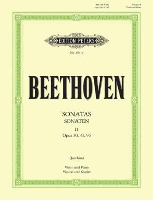 Sonaten für Violine und Klavier, Bd. 2 BEETHOVEN laflutedepan